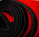 Hyra röd matta